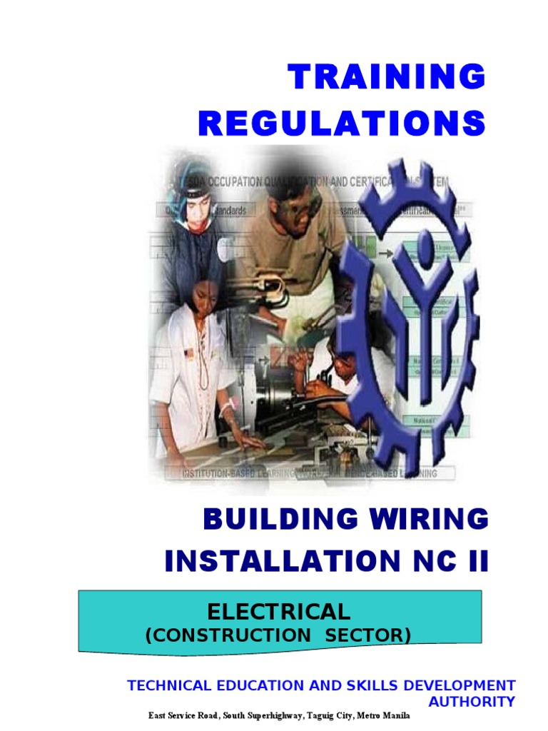 Building-Wiring-Installation-NC-II.pdf | Occupational Safety And ...
