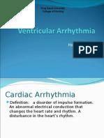 Ventricular Arrhythmia - Hatem Alsrour