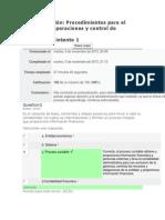 Autoevaluación Procedimientos para el registro de operaciones y control de 2