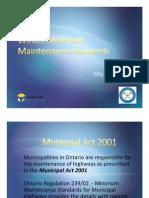 City of Timmins-Minimum Maintenance Standard-Power Point Presentation.pdf