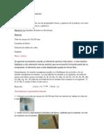 Exp 2- Reacción de dezplazamiento