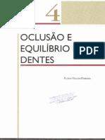 04 - OCLUSÃO E EQUILÍBRIO DOS DENTES