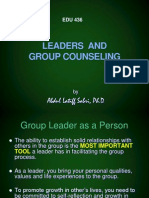 Leaders and Group Counseling