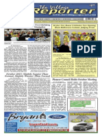 The Village Reporter - November 6th, 2013