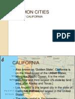 COMMON CITIES in california.pptx