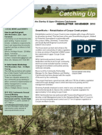SEQ Catchments Catching Up in the Stanley Upper Brisbane Catchments Newsletter November 2013