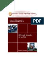 Serie de Publicaciones de La Reforma Universitaria No 3 - Modelo Educativo UNAH