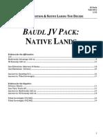 Baudl Jv Pack Sy13 Natives