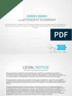 Swiss Bank Independent Examiner
