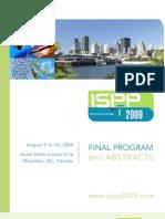 ISPP2009 Final Program