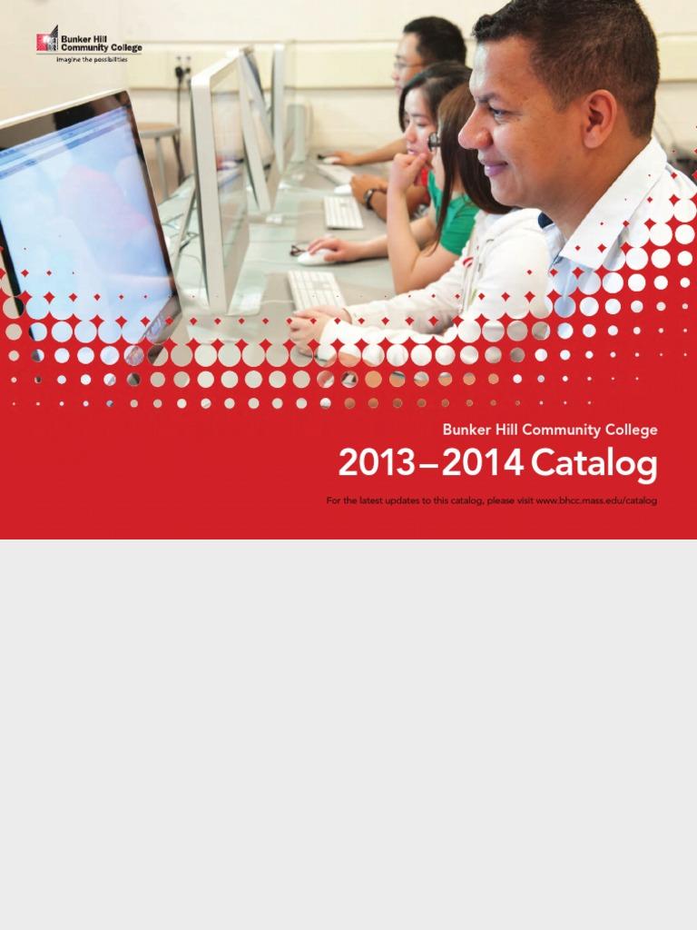 Bhcc college catalog 2013 14 pdf university and college admission college
