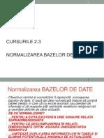 Baze de Date Curs 2-3 Fabbv