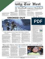 The Daily Tar Heel for November 6, 2013