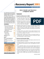 Asia Recovery Report - September 2001