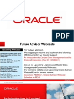 Oracle LCM