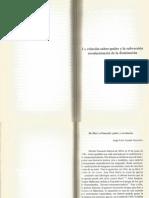 """Acanda, Jorge Luis """"De Marx a Foucault"""