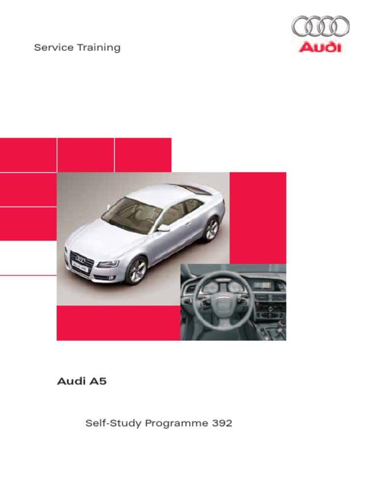 SSP392 Audi A5 pdf | Transmission (Mechanics) | Airbag