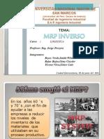 Mrp Inverso - Trabajo Completo