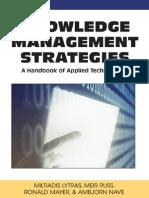 Knowledge Management Strategies A Handbook of Applied Technologies.pdf