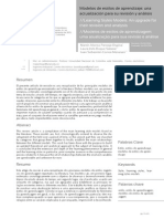 Martin Pantoja - Modelos de estilos de aprendizaje- una actualización para su revisión y análisis