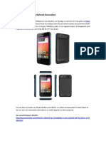 Haier W910, Le Smartphone Baroudeur