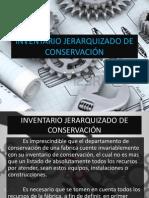 INVENTARIO JERARQUIZADO DE CONSERVACIÓN