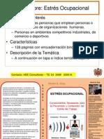 Estrés Ocupacional LIBRO Presentacion, HEE Consultores
