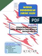 KAB3043-Pengajaran Literasi Awal Membaca dan Menulis Bahasa Melayu.pdf