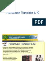 Penemuan Transistor  IC.ppt