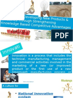 Knowledge based competitive advantages