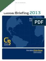 Global Briefing Booklet 2013