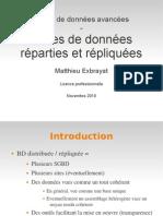 BDR Bases de données réparties 2010-1