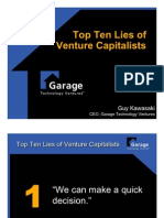 Garage Lies VCs