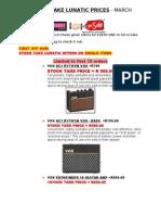 VOX TURNKEY STOCK TAKE PRICES MARCH 2013.doc