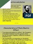 Electron and Photon