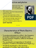 Electron and Photon