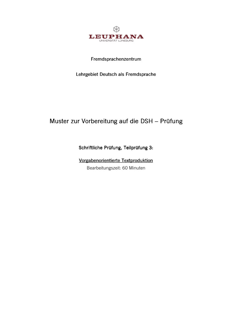dsh_bsp_textproduktionpdf - Dsh Prfung Muster