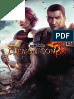 Dark Eye Demonicon manuale