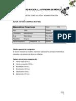 Apuntes de Matematicas Finanacieras de Antonio Camargo