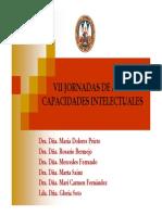 VII Jornadas Altas Habilidades 2011