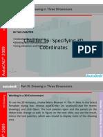 AutoCAD 2009 Second Level 3D Fundamentals BSIE Chapter 16.pptx
