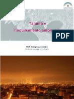 Giorgio Assennato. Taranto e L'inquinamento