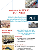 Global-Indian Retail Scenario & Marketing Strategies by Carrefour's