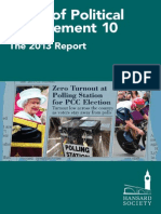 Audit of Political Engagement