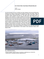 Architecture and Urbanism of Arctic Cities