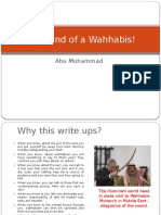 The Mind of a Wahabis!