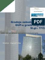 Gradnja Nebodera  u Zagrebu 2013.