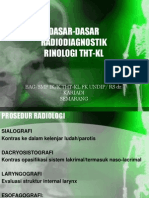 Dasar Radiologi Rinologi Koas