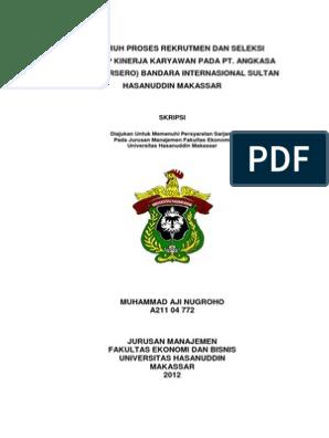Skripsi Lengkap Manajemen Feb Muhammad Aji Nugroho Pdf