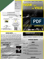 Noir sur la Ville 2013